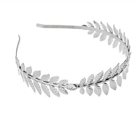 SZETOSY Stirnband mit Blattmotiv – Goodchanceuk Römische Göttin Stirnband Hochzeitszubehör für Hochzeit, Party, Tanzparty, Modenschau…