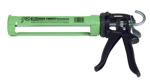 P.C. Products Steel Dispensing Dripless Caulking Gun