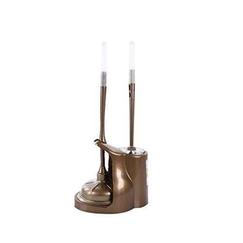 Guuisad Inicio Cepillo de inodoro, soporte de cepillo de inodoro Conjunto de cepillo de inodoro Conjunto de cepillo de inodoro Cepillo de inodoro Tipo de combinación con fondo anti-caída impermeable p