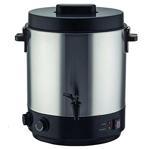 Stérilisateur électrique inox 31 litres 2100 W SEQUOIA avec Robinet Température réglable et timer