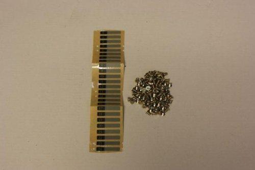 Supermicro Schrauben Set fur 24x HDD mit Aufkleber MCP 410 00005 0N 100 Stck
