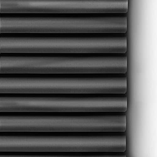 ZXXL Persianas Persianas Venecianas de Aluminio Negro para Baño, 85cm / 105cm / 115cm / 125cm / 145cm de Ancho, Cortina de Privacidad de Ventana Impermeable Anti-UV (Size : 105x120cm(41.3x47.2in))
