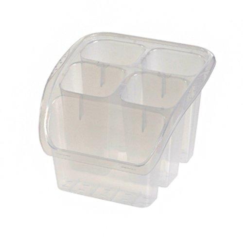 OKT 2053765 Panier aux vaisselles en Transparent Plastique