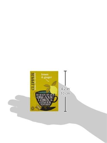 クリッパーレモン&ジンジャーティー50g(20×2.5gティーバッグ)