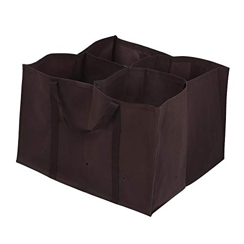 Planter Bag, Duurzaam 4 Pocket Garden Planter Bed Grow Bag Bloem Groente Planten Pot, Waterdicht, Niet-giftig, Corrosiepreventie