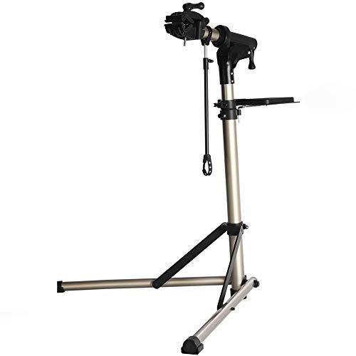 Gowell Montageständer Reparaturständer für Ihre E-Bikes und Fahrräder bis 30 kg Fahrradmontageständer klappbar Teleskopstange höhenverstellbar = ca. 980-1,560 mm