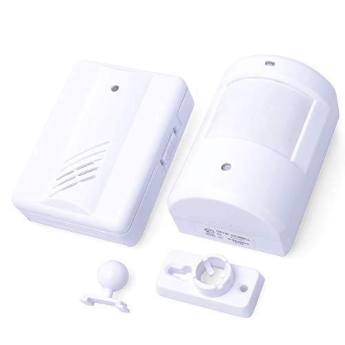 Wireless Doorbell Entry Welcome Alarm Chime IR Infrared Monitor Sensor...