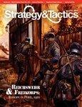 DG: Strategy & Tactics Magazine #273, with Reichswehr & Freikorps, Europe 1920 Board Game