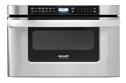 Sharp KB-6524PS 24-Inch Microwave Drawer Oven, 1.2 cu....