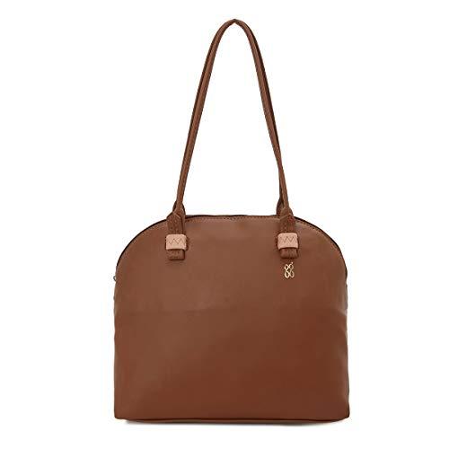 Baggit Women's Bowling Handbag (Tan)
