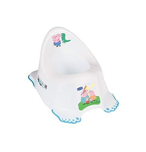 Vasino Sedia Bambino Toilette Bambino Bambini Training Sedile Sicuro Anti-scivolo - Peppa Pig Blu
