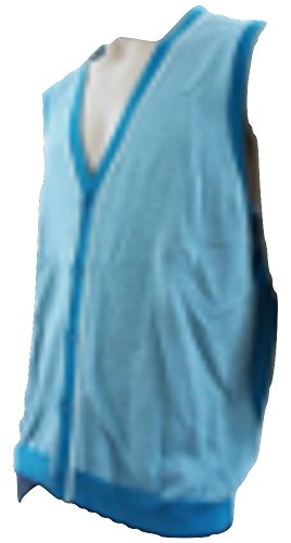 Ted Baker - Pull sans Manche - - Uni Homme Bleu Teal Blue