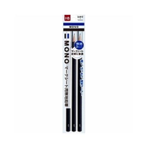 トンボ鉛筆 マークシート用鉛筆 MONO KN無地 HB 3本 ACA-312 『 2セット』