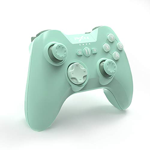 Mfi Game Controller for iPhone PXN Speedy(6603) iOS Gaming Controllers for Call of Duty Gamepad with Phone Clip for Apple TV, Ipad, iPhone (Green)