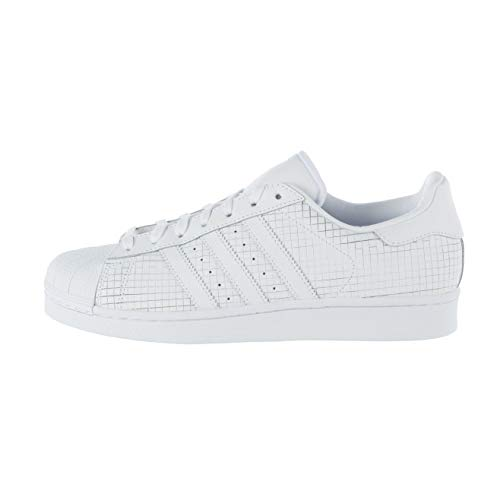 adidas Mens Originals Mens Superstar Trainers in White - UK 4.5
