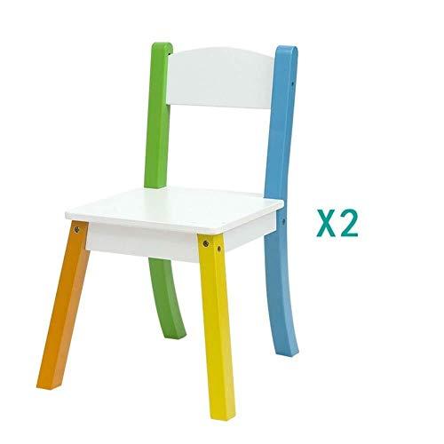 Mr.T kindertafel kruk kinderen tafels stoelen baby-massief houten leren speeltafel tekening eettafel huishoudkleuterschool, 3-9 jaar oud bureau