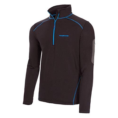 Trangoworld pc008130 – 110-XL Pullover, Homme, Noir, XL