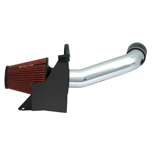 Spectre Performance Air Intake Kit with Washable Air Filter: 2007-2011 Jeep Wrangler, 3.8L V6,...