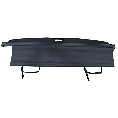 NewYall Black Retractable Trunk Cargo Cover Luggage Shade Shield