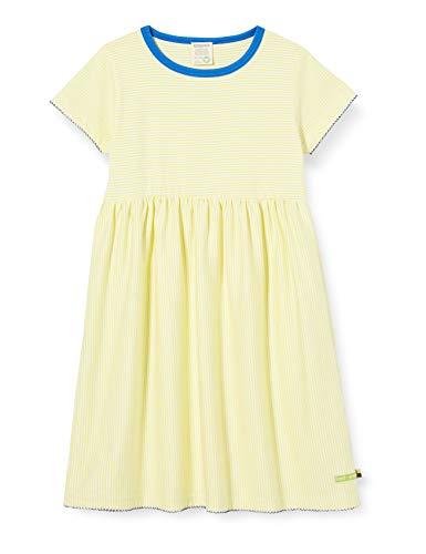 loud + proud Dziewczęca sukienka w paski Organic Cotton Kleid