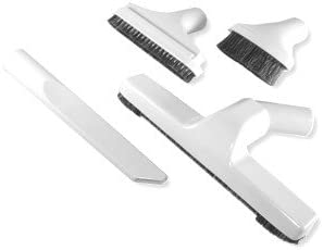 Deluxe Four Brush Central Vacuum Cleaning Price reduction Whi in Ranking integrated 1st place Set Oyster Tool