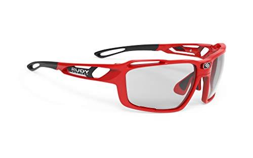 Rudy Project Sintryx Glasses fire red Gloss - impactx photochromic 2 Black 2019 Fahrradbrille