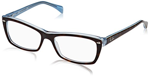 Ray-Ban Damen 0rx 5255 5023 51 Brillengestell, Braun (Top Havana On Havana Blue)