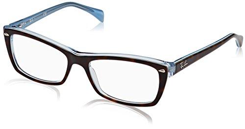 Ray-Ban Damen 0rx 5255 5023 51 Brillengestell, Braun (Top Havana On Havana Blue)