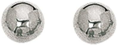 14K White Gold 8.0mm (1/3