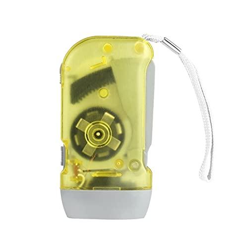 Fangaichen Adecuado para al Aire Libre 3 Mano LED Presionando Dynamo Manrib Power Power Wind Up Flashlight Torch Light Mano Mano Presione CANCK Camping Lámpara Luz para Inicio al Aire Libre