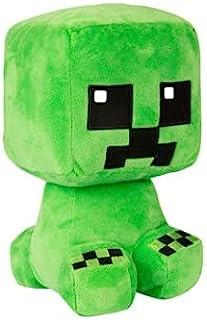 Crafter Creeper Plush Stuffed Toy, Green, 8.75