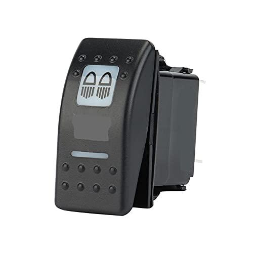 XIXI-Home Interruptor de balancín Iluminado DIRIGIÓ Ajuste de la Barra de luz para el Comandante de Maverick 16 UTV FIT FOR para Yamaha para Polaris Ranger (Color : B)