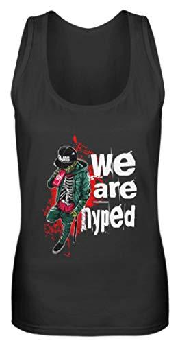 Hip-Hop Zombie Swag - Camiseta de tirantes para mujer Negro XXL