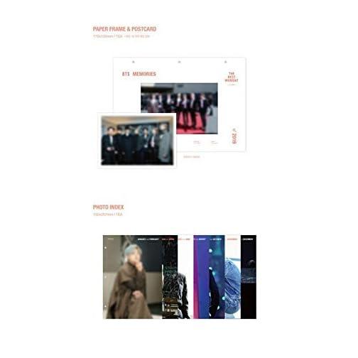 BTS Memories of 2019 (Incl. Weverse Shop Gift : BTS Memories of 2019 Photo Frame, Random Transparent Photocards Set)  
