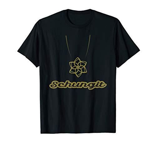 Heilsteine Schungit Organit Baryt Geschenk T-Shirt