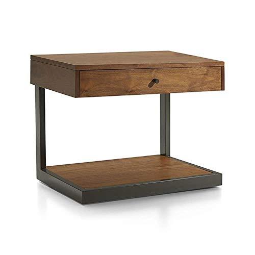 TXXM® Herstellung Massivholz Nachttisch Nacht Beistelltisch Form einfach und haltbar und praktisch Praktische Möbel