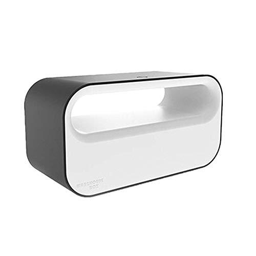 Scatola di immagazzinaggio con presa a sfioramento, scatola per cavo multipresa, materiale multifunzione di scatola di immagazzinaggio con presa ABC ignifuga con luce a led d'atmosfera