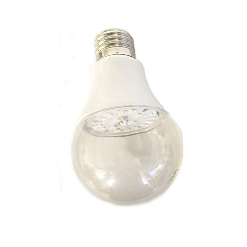 QWQW Keimtötende Lampe Uv-C Desinfektion Desinfektionlampe Antibakterielle Haus Luftreiniger,E27 Lichtanschluss/Geruch Beseitigen/Glühbirne-12W