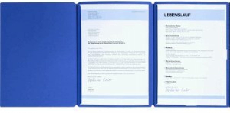 Pagna 15 x Bewerbungsmappe Bewerbungsmappe Bewerbungsmappe Spirit 3-teilig blau B00CPJIOWU | Qualität und Quantität garantiert  baf01f