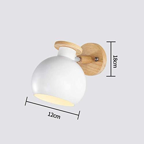 Lantaarn wandlamp kristal spiegel verlichting vooraan LED wandverlichting Moderne wit creatieve verlichting levendig bedlampje (lamp is niet inbegrepen, mm 1 exemplaar