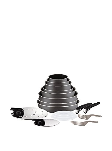 Tefal L2049002 Ingenio 5 Essential Lot de 17 Pièces...
