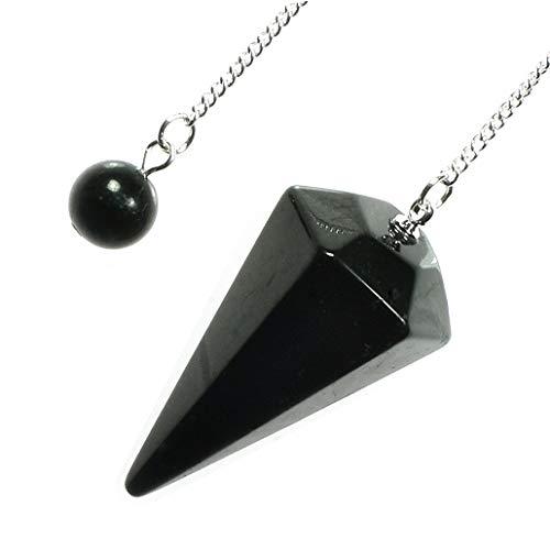Péndulo de cristal Shungite