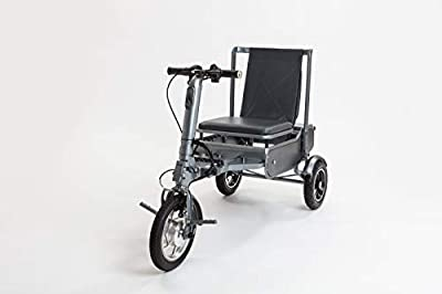 eFOLDi Mobility Scooter 3 Wheel Electric Scooters 14 Mile Range -Only 17KG