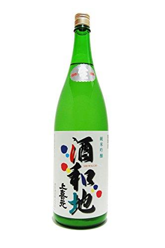 【要冷蔵】上喜元(じょうきげん) 酒和地(しゅわっち) 純米活性にごり 1.8L
