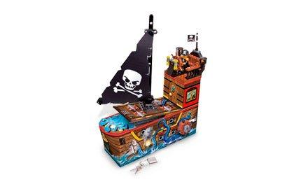 LEGO Pitares - Hucha, diseño de Barco Pirata