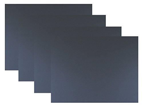 代引対応 カラーダンボール板 4枚セット カラー:(ブラック, 600×450)