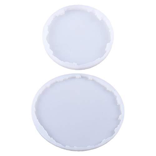 ZJL220 Molde de resina epoxi de cristal de silicona para manualidades de bricolaje