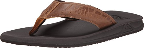 Reef Men's Phantom LE Sandals, Brown/Tan, 10