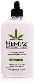 Hempz Pomegranate Herbal Body Moisturizer 17.0 oz