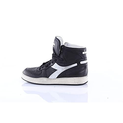 Sneaker Diadora Heritage MI Basket 84 Used Nero-Bianco 158569 (EU 41)